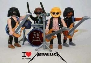 Clic Playmobil Metallica
