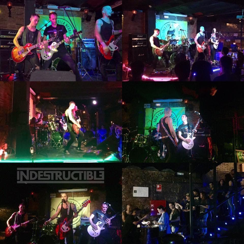 Indestructible banda hard rock punk