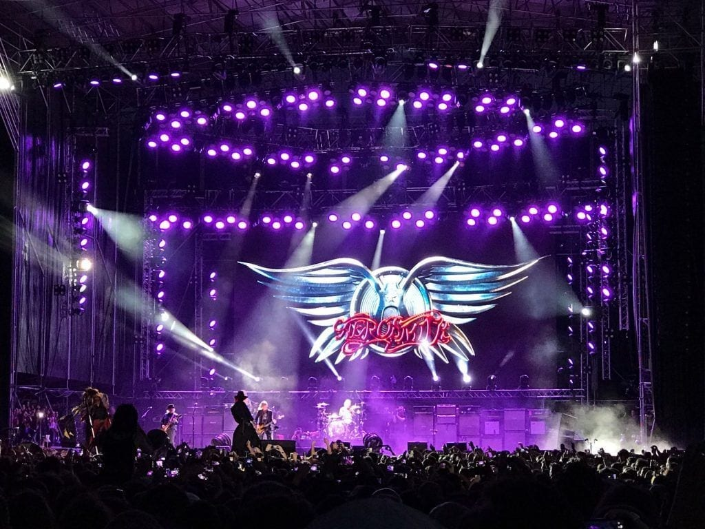 Rock and Blog Aerosmith Madrid 1