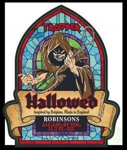 hallowed beer iron maiden