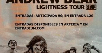 cartel andrew bear barcelona rock and blog