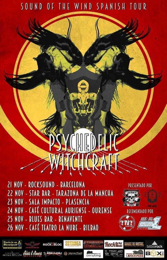 rock and blog cartel gira witchcraft