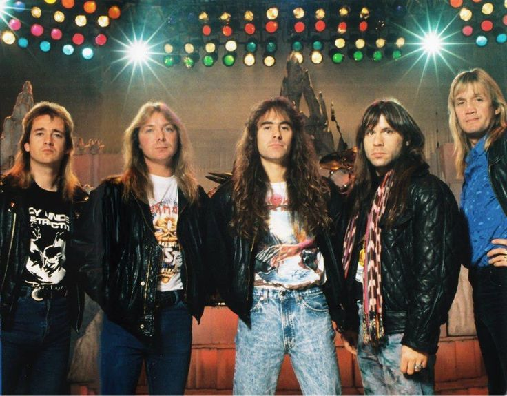 iron maiden 1988 rock and blog