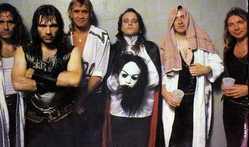 iron maiden lineup 1988 rock and blo