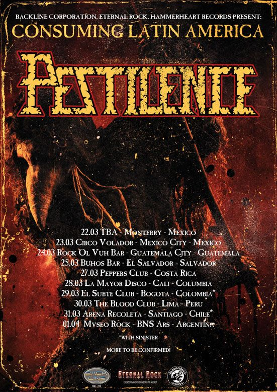 pestilence rock and blog especial
