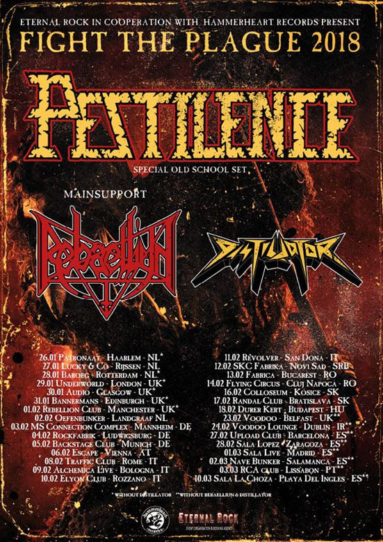 pestilence rock and blog especial band cartel