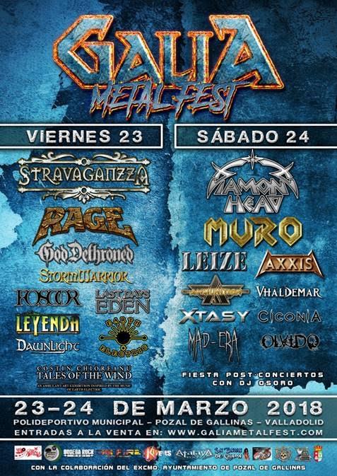 cartel galia metal fest 2018 rock and blog