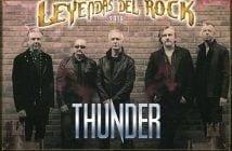 thunder leyendas del rock