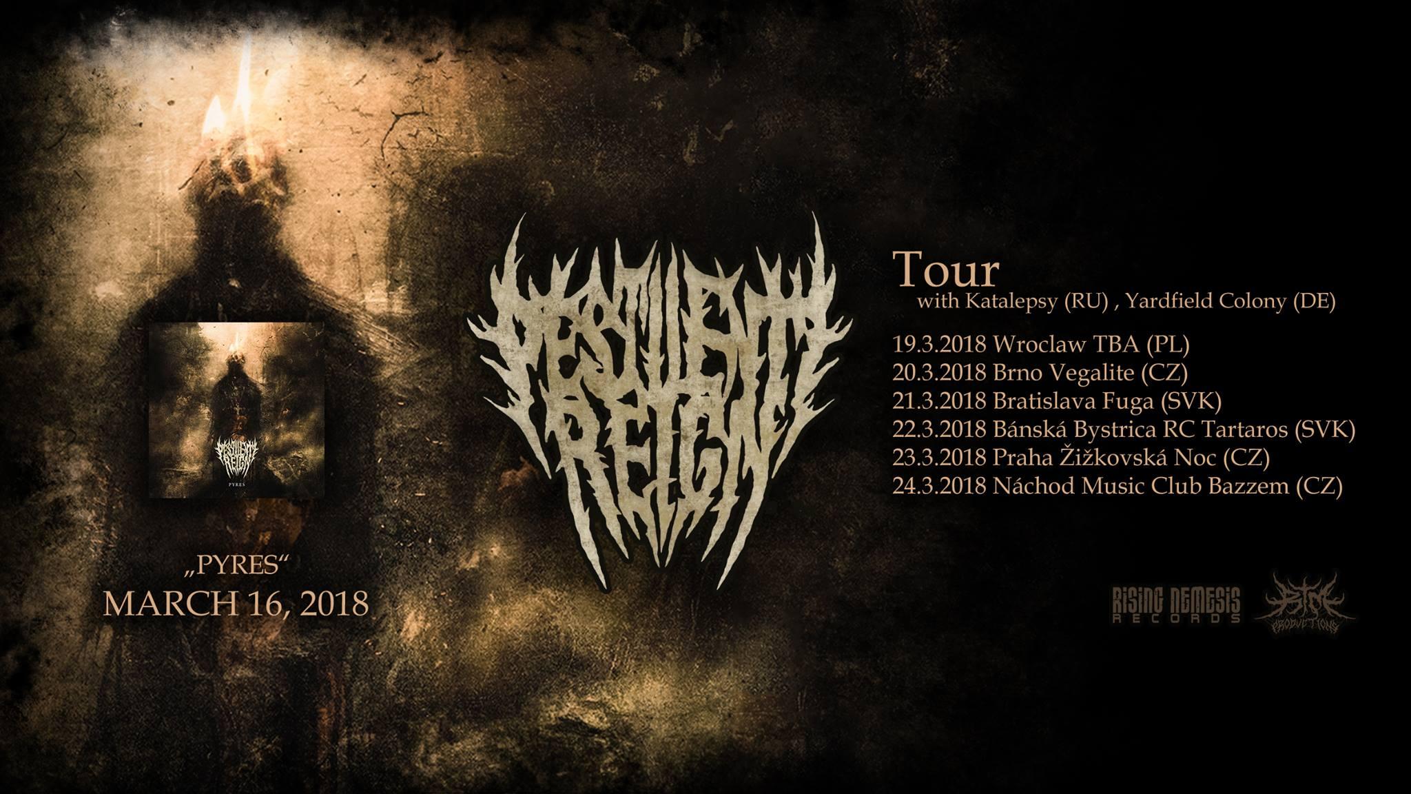 tour pestilen reign