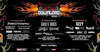 cartel definitivo del download festival madrid