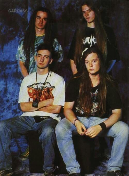 carcass banda rock and blog
