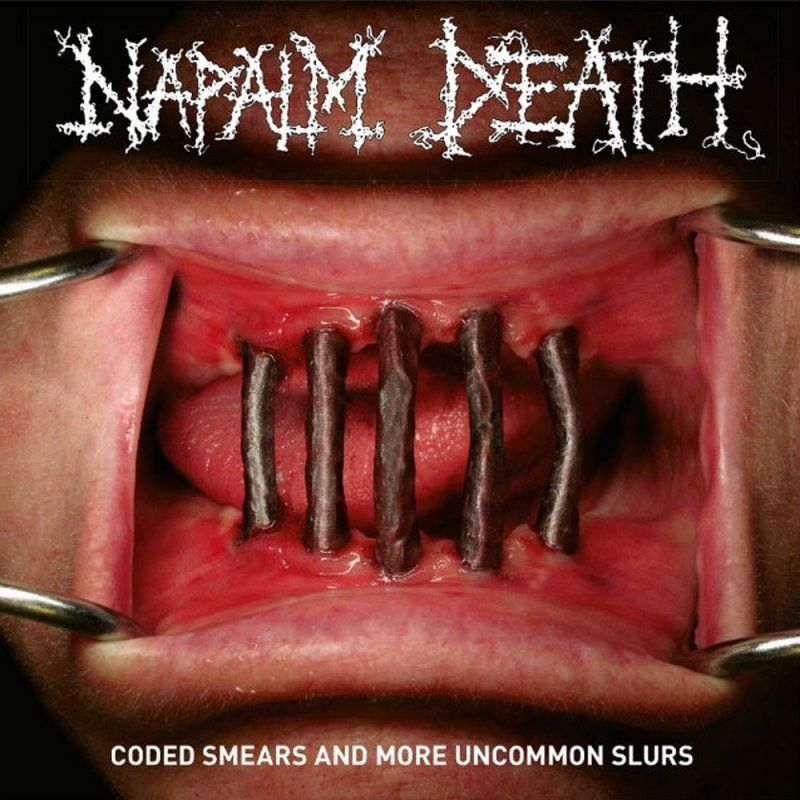 cover napalm death coded smears recopilatorio