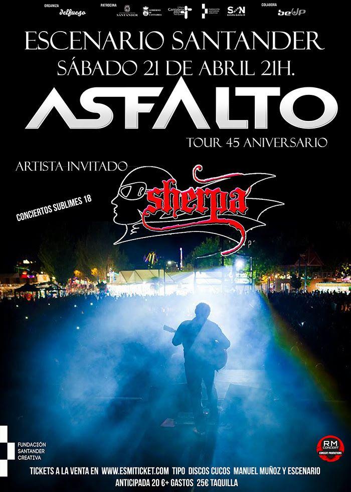 concierto asfalto sherpa cartel