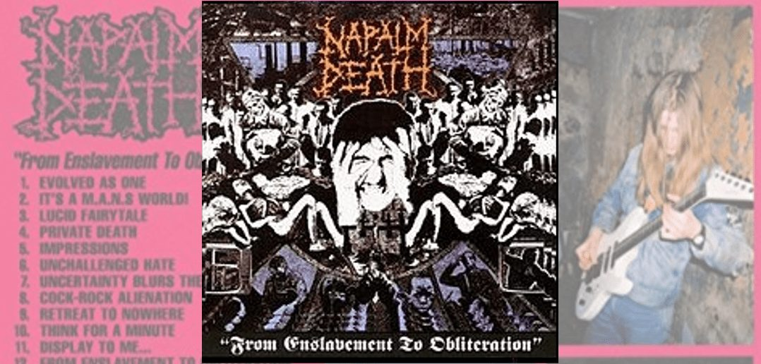 napalm death obliveration