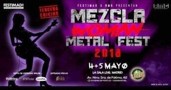 mezcla woman metal fest
