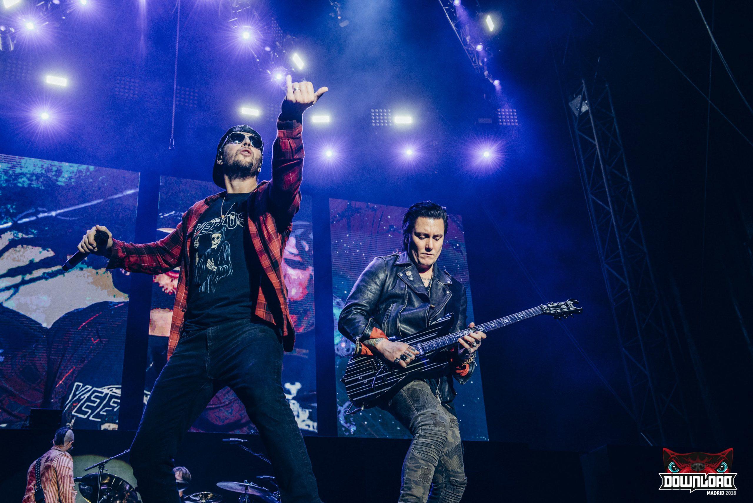180609 - Avenged Sevenfold – Download Festival Madrid 18