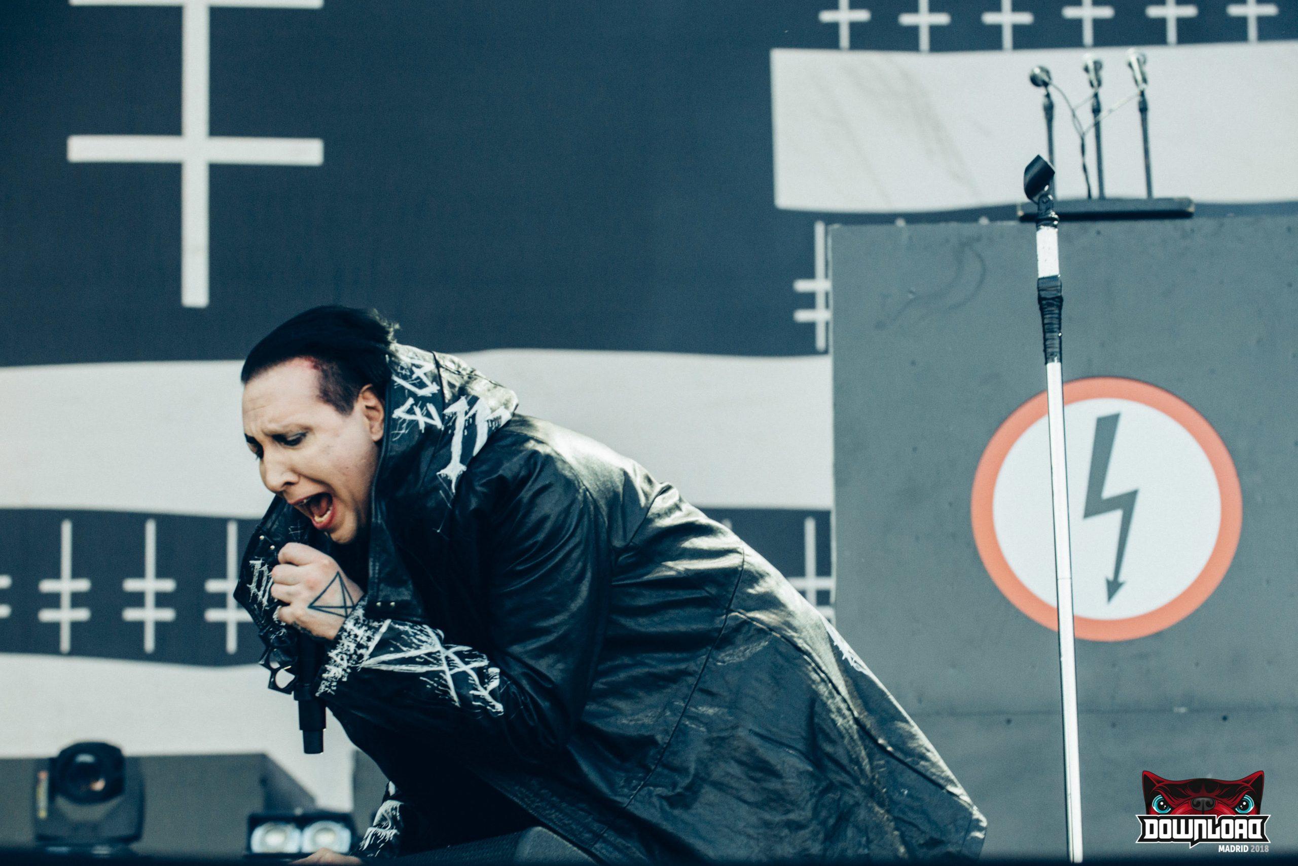 180628 Marilyn Manson - Download Festival Madrid 18