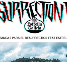 Encuesta de bandas para el Resurrection Fest 2018