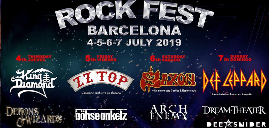 distribucion bandas dias rock best barcelona 2019