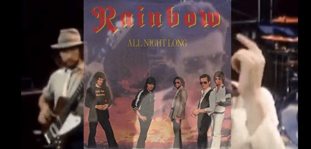 video all night long rainbow