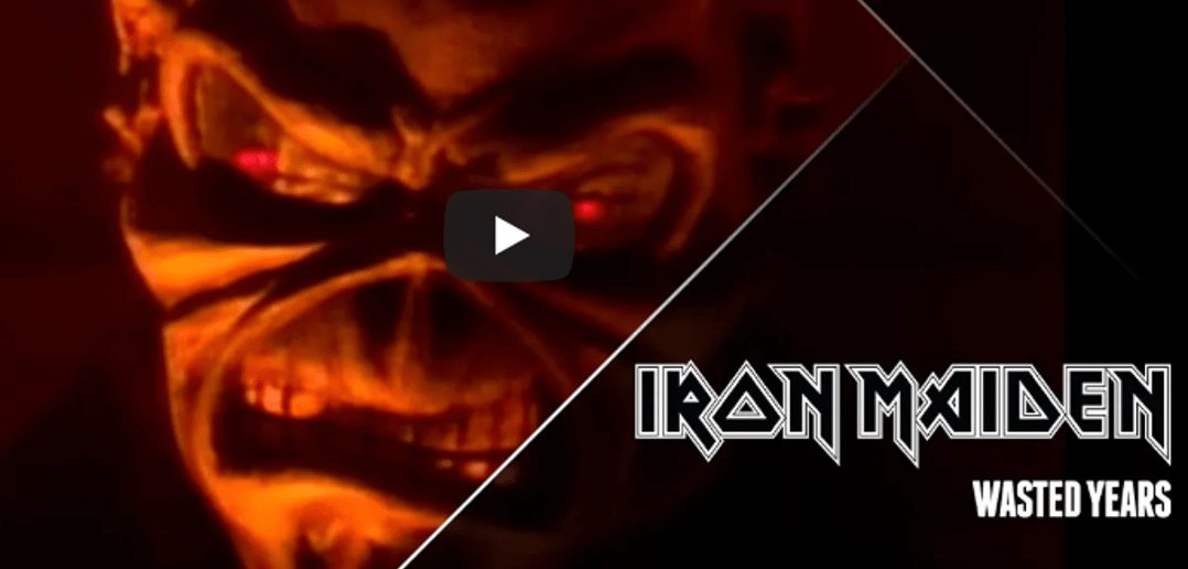 video iron maiden wasted years