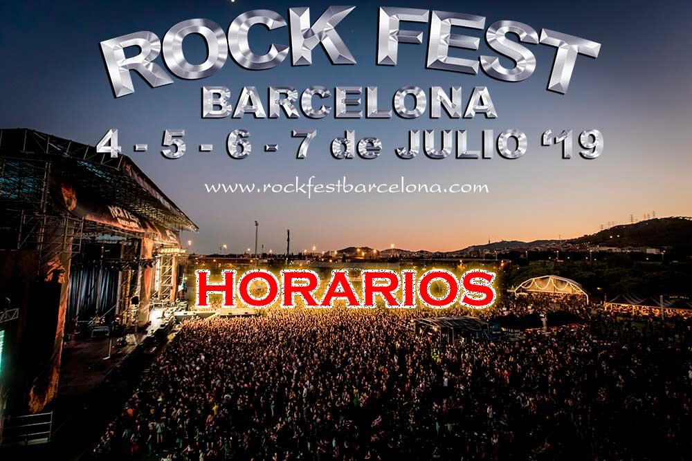 Horarios-Rock-fest-bacelona-2019