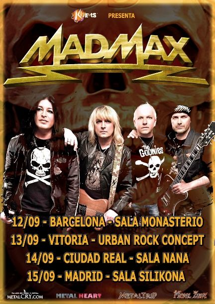 cartel mad max tour spain 2019