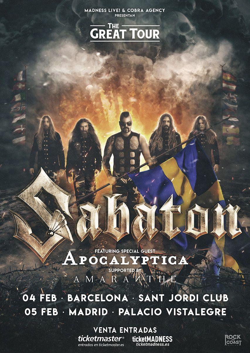 sabaton_cartel gira 2020