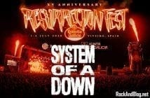 system of a down resurrection fest 2020