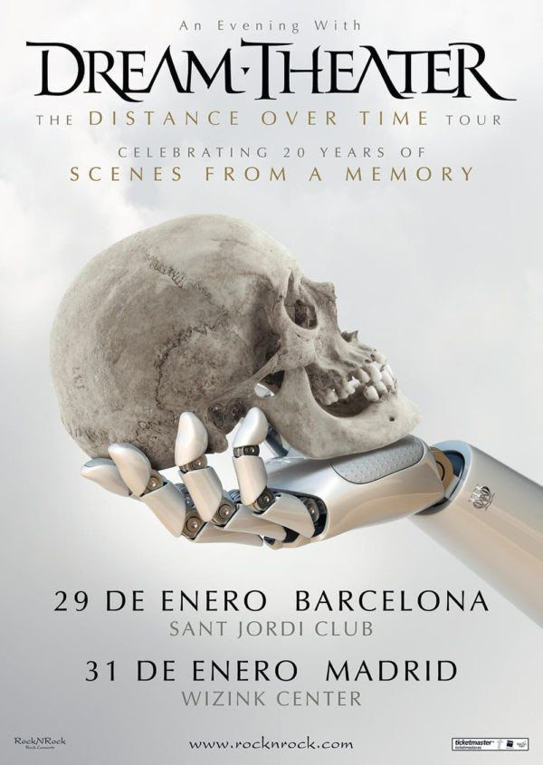 cartel gira dream theater 2020