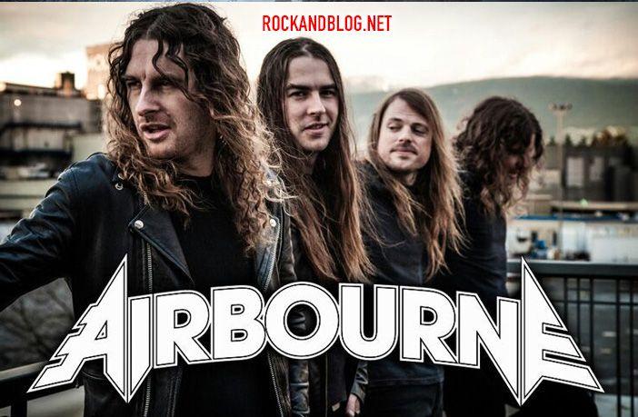 airbourne conciertos 2019