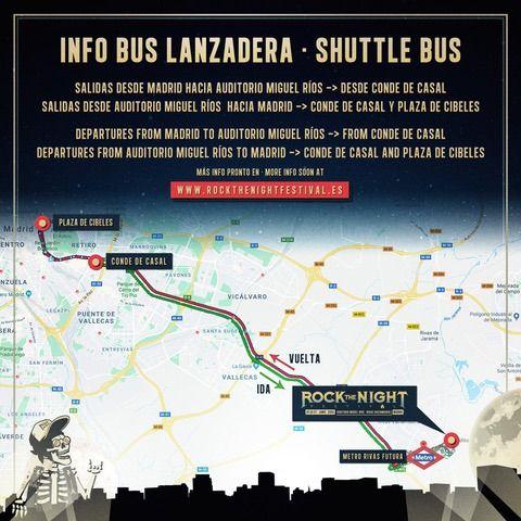 autobuses rock the night festival