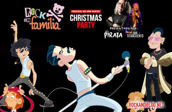 rock en familia fiesta navidad