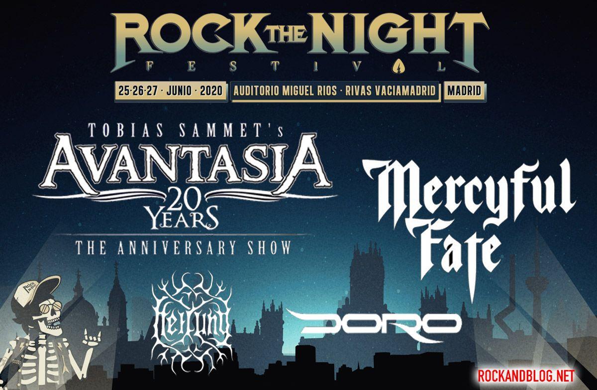 rock the night primeras confirmaciones