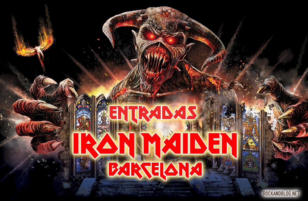 entradas iron maiden barcelona