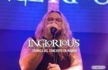 inglorious concierto madrid cronica