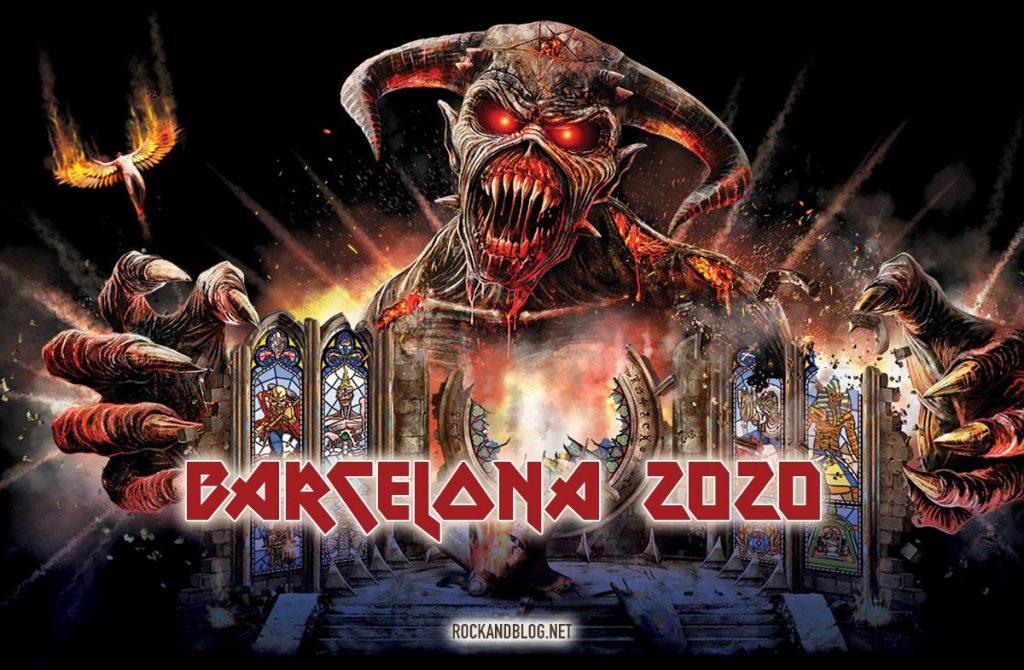 iron maiden barcelona 2020