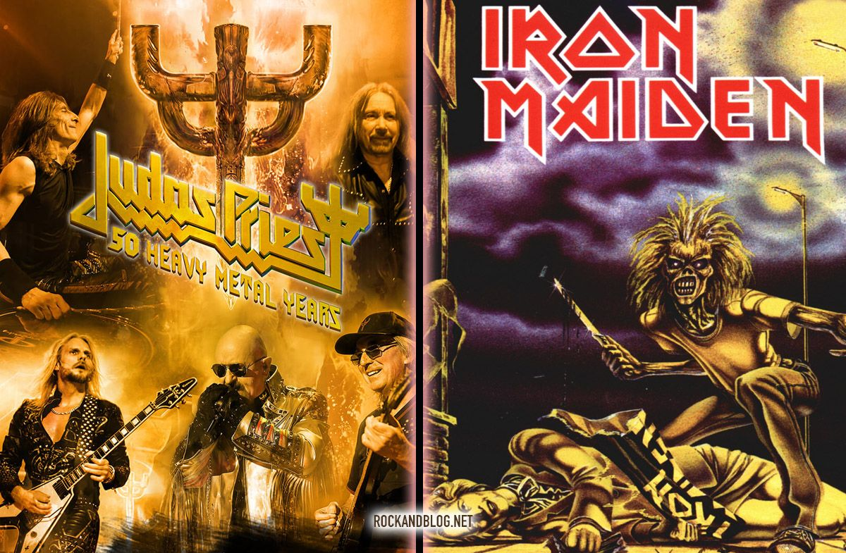 judas priest y iron maiden