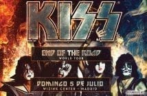 kiss en madrid 2020