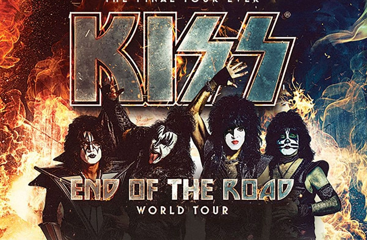 kiss end road spain