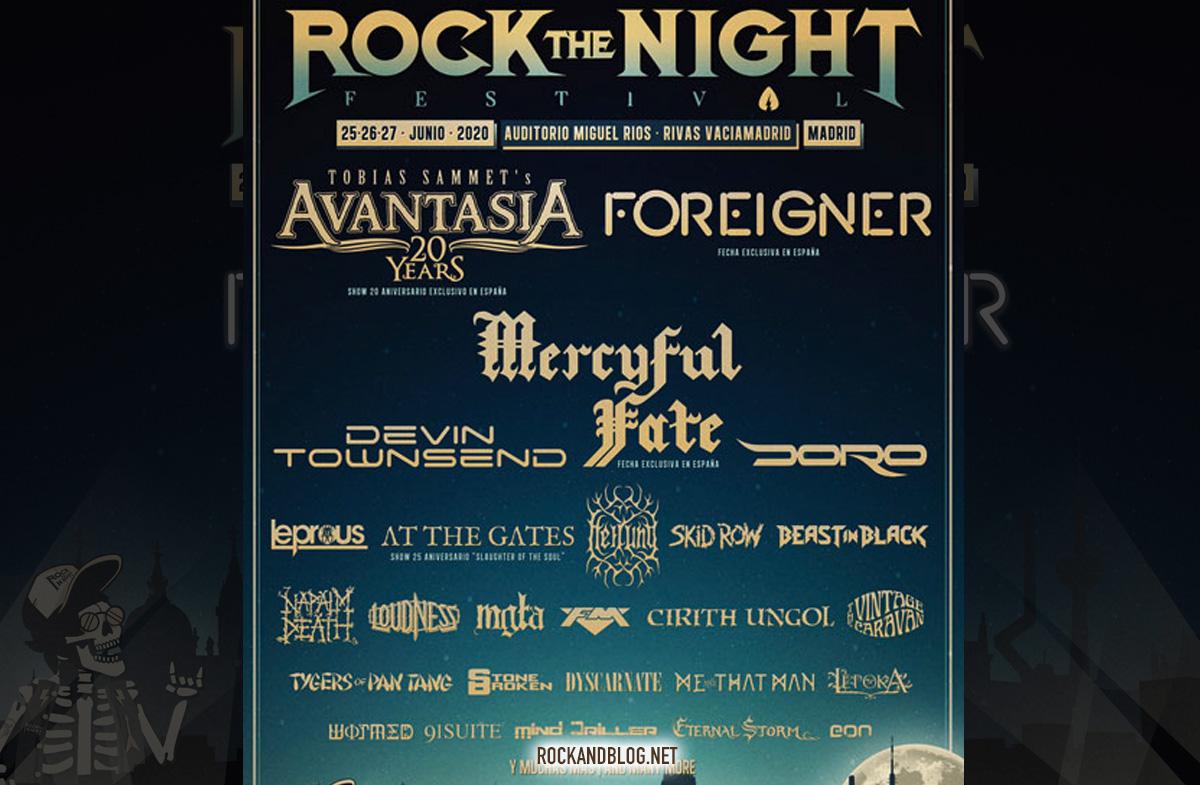 rock the night fest segunda tanda
