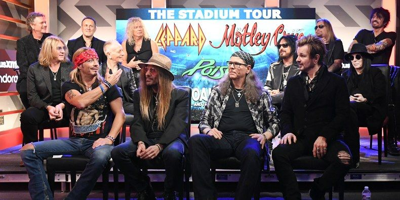 Mötley Crüe, Def Leppard, Poison confirman gira en 2020 y anuncian fechas