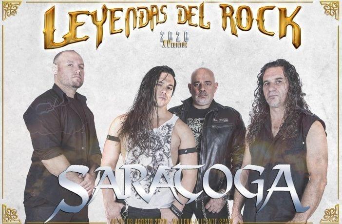 Saratoga leyendas del rock 2020