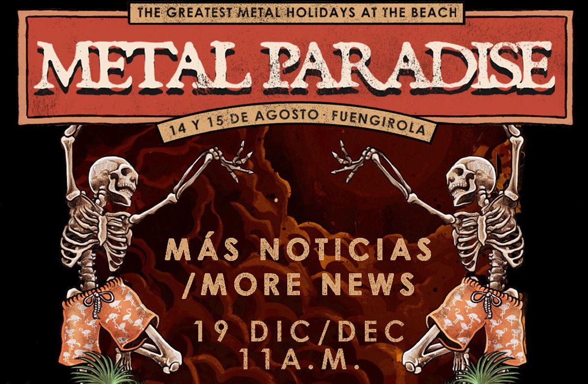 anuncio metal paradise festival