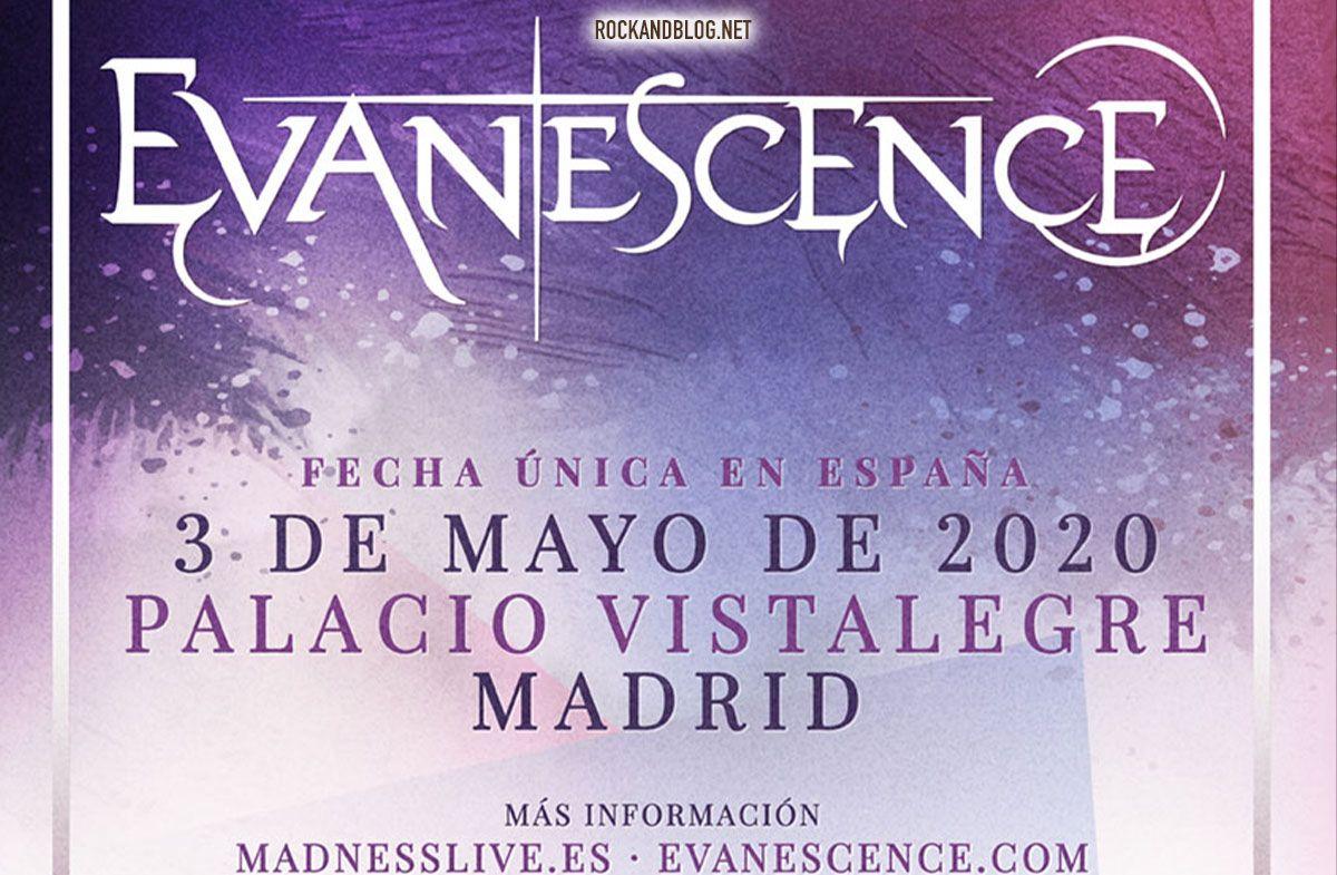 concierto evanescence madrid