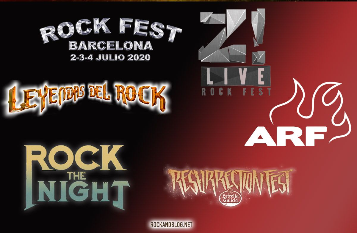 festivales de rock 2020