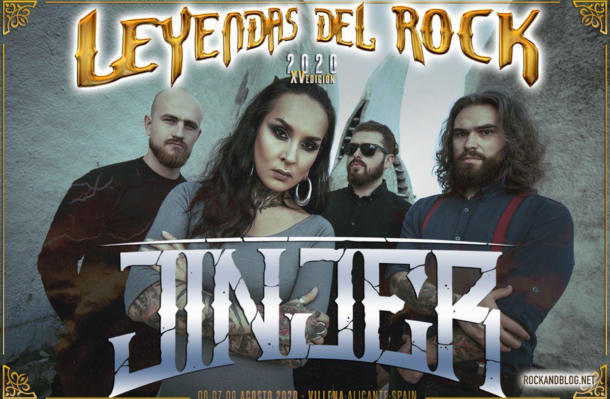 jinjer al leyendas del rock 2020