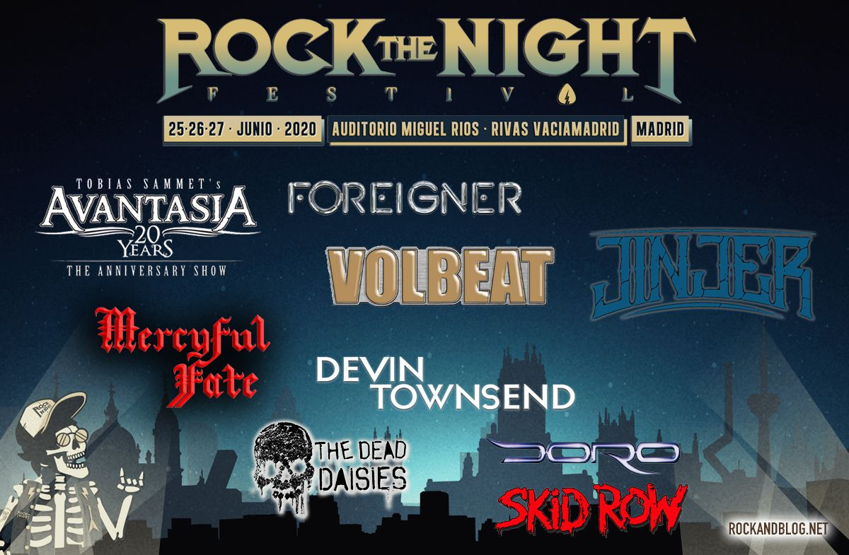 novedades rock the night fest