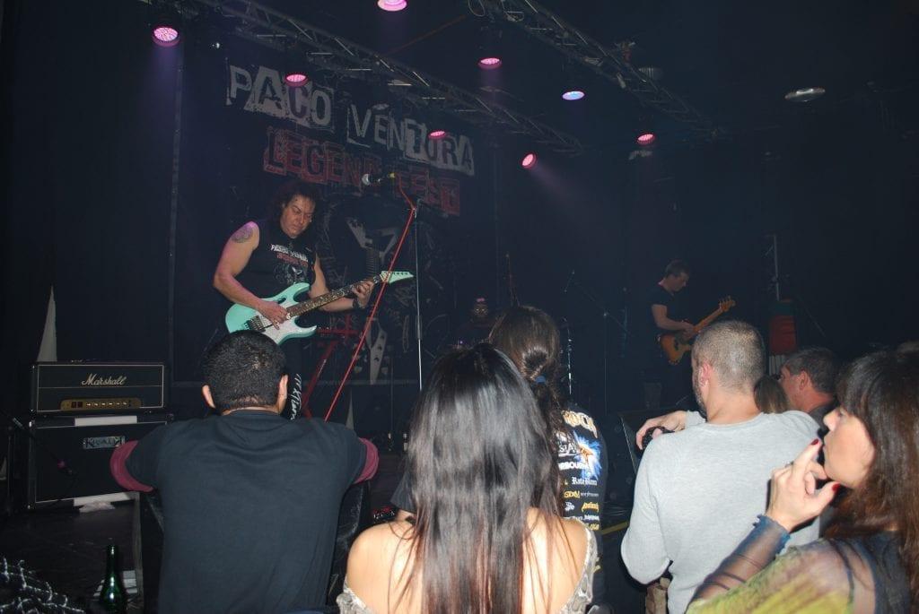 Crónica y Fotos del concierto de PACO VENTURA LEGEND FEST en Málaga (25/01/2020)