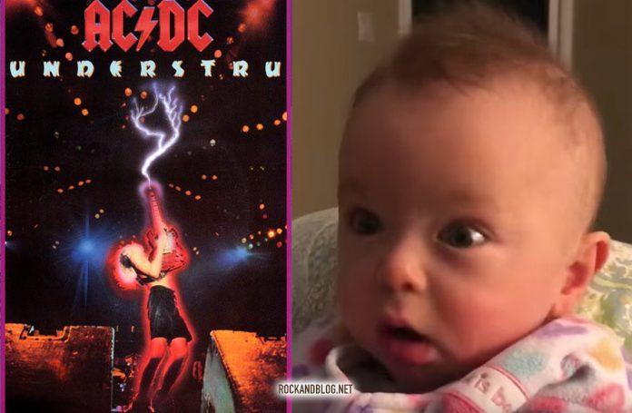 baby acdc thunderstruck
